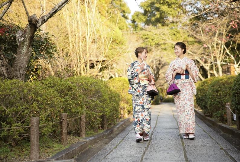 レンタル着物で京都観光