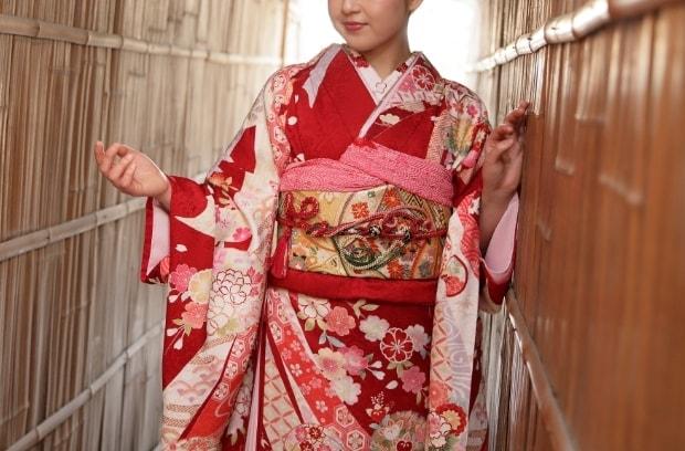 京都和華の女性用レンタル着物