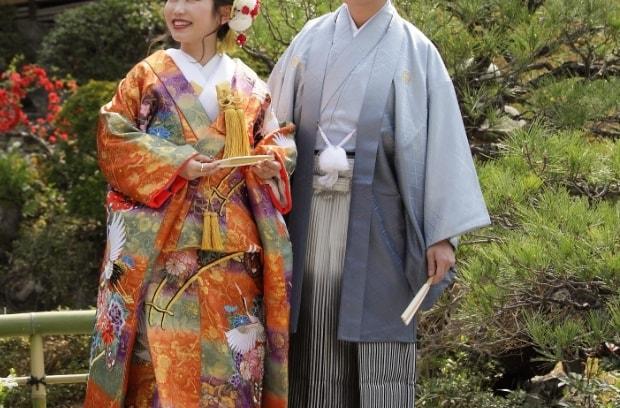 京都和華の男性用レンタル着物