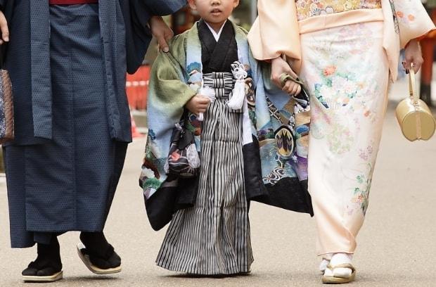 京都和華の子供用レンタル着物