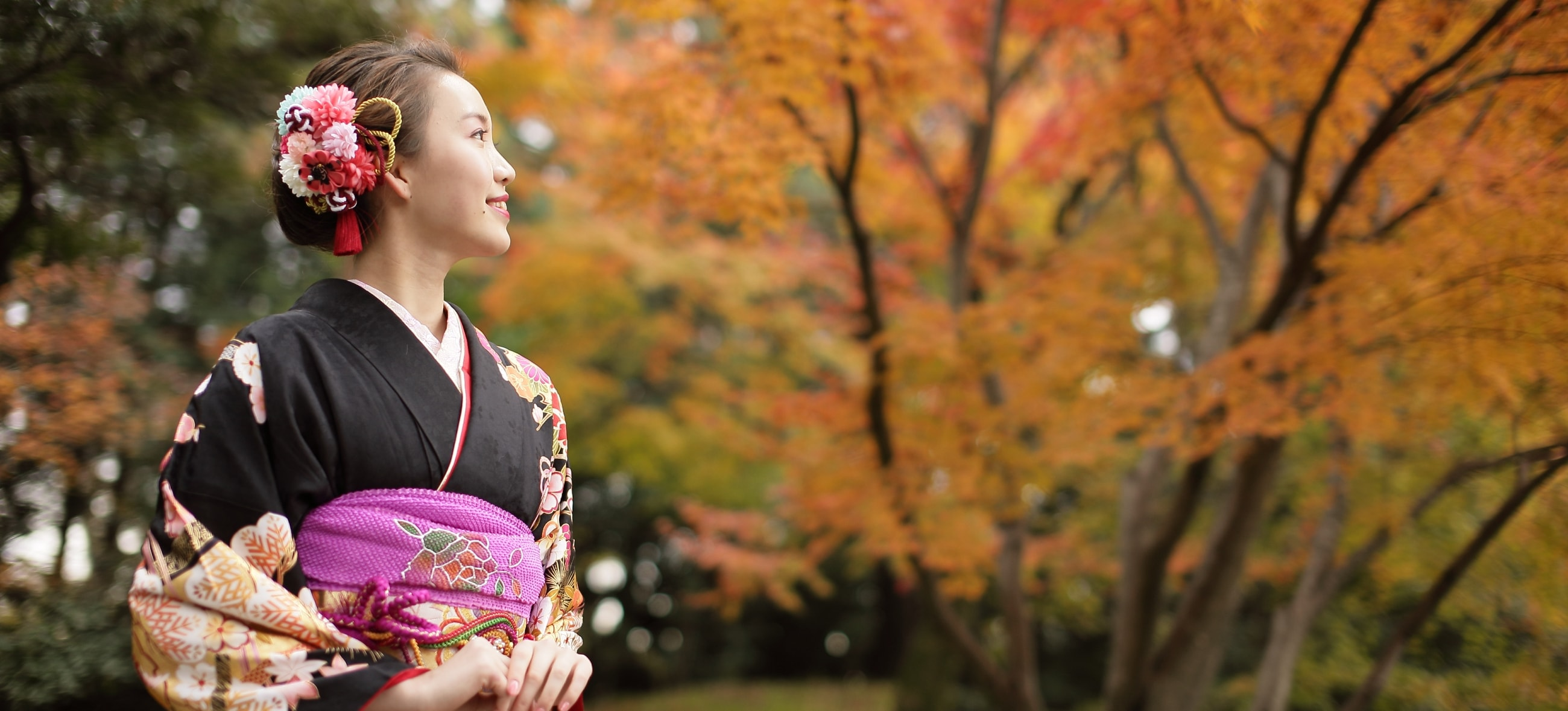 京都写真館和華でウェディングフォト撮影